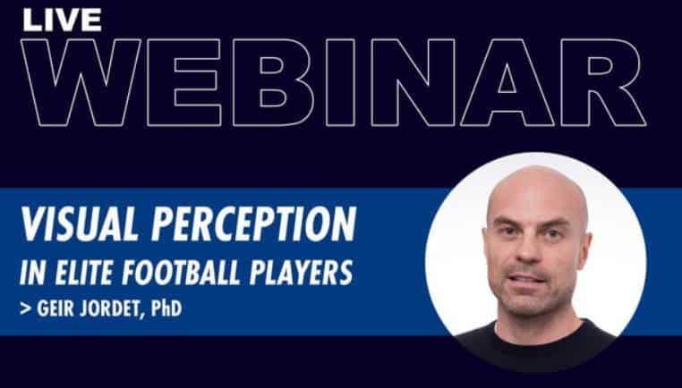 Live Webinar: Visual perception  in elite football players